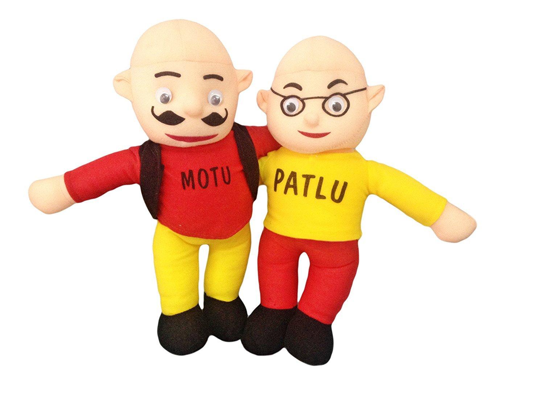 Buy Tako Bell Cartoon Cute Stuffed Toy Motu Patlu Height 38 Cm
