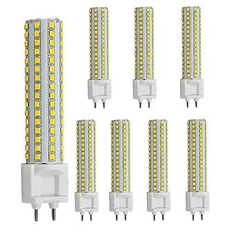 AscenLite LED G12 Bombilla 15W luz de maíz AC85-265V 360 grados 1500 lúmenes caliente