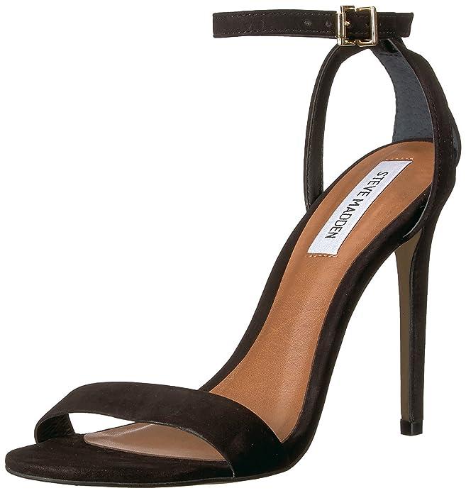 6d287384d Amazon.com | Steve Madden Womens Reno Open Toe Casual Ankle Strap Sandals |  Sandals