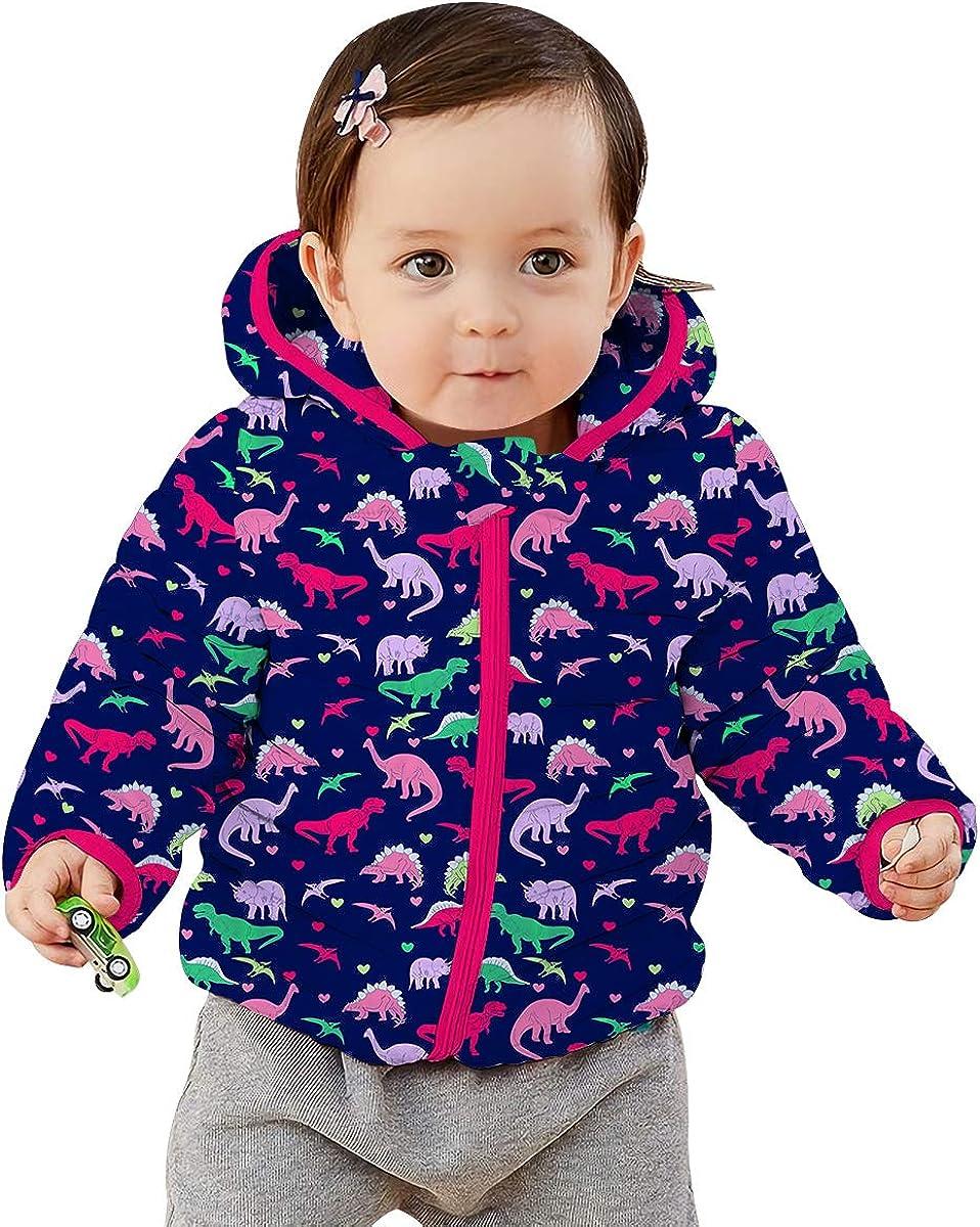 RAISEVERN Winter Kinder Jacke Leichte Puffer M/äntel f/ür Baby M/ädchen 0-36Monat Coats Winddichte Kapuzenjacken mit Kapuze Neugeborene Outwear