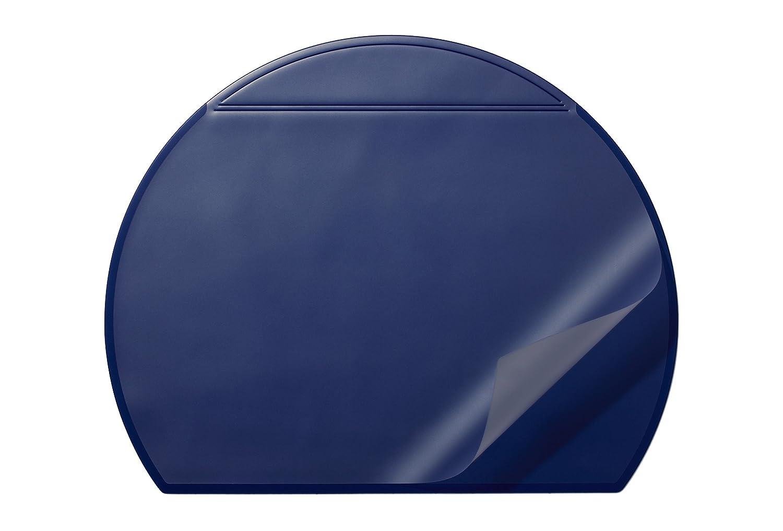 Durable 729001 Sous-main demi-cercle avec Rabat Noir
