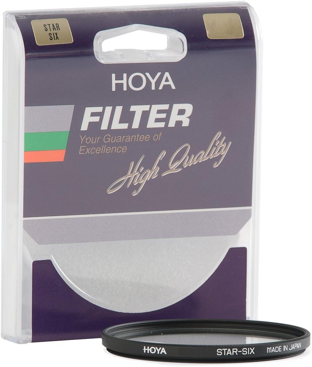 Hoya 55mm Six Point Cross Screen Glass Filter 6X