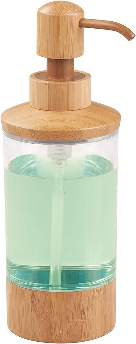 Handmade Natural Bamboo Cap Hand Cream Jar Plastic Pump Lotion Bottle