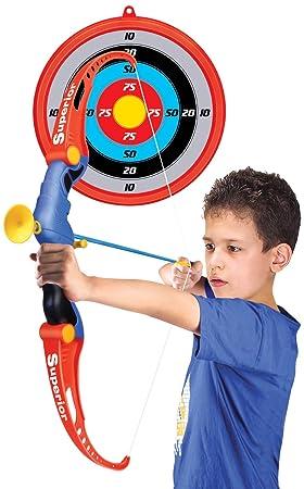 Kids SUPER Archery Bow and ARROW Set con 3 frecce e bersaglio