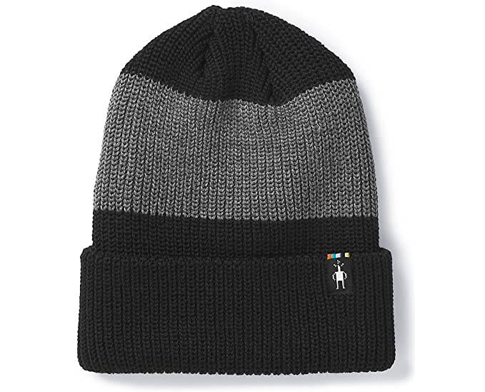 35f28fe4388 SmartWool Men s Snow Seeker Ribbed Cuff Hat Black 1FM at Amazon ...