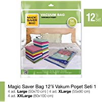 MAGIC SAVER BAG 12'li Vakumlu Poşet Seti 1