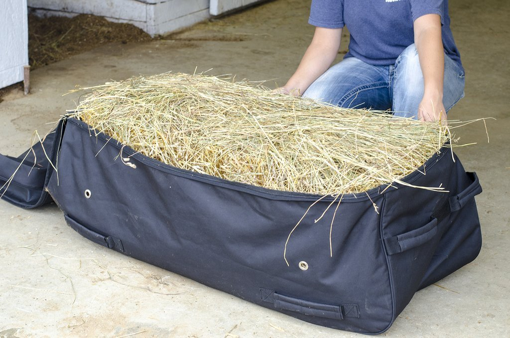 Derby Originals Waterproof Heavy Duty Rolling Hay Bale Bag with One Year Warranty - Ventilated to Maintain Hay Freshness 5