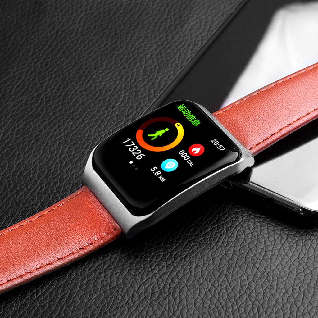 NDGDA, Blood Pressure Monitoring Sleep Exercise Fitness Track Smart Watch E58 (B) by NDGDA Smart Watch (Image #2)