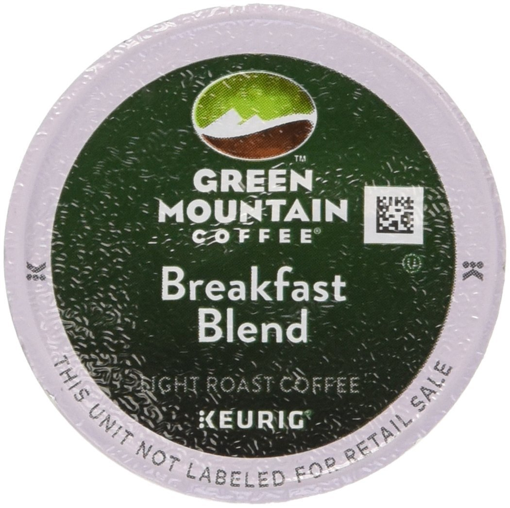Green Mountain Coffee K-Cups, Breakfast Blend K-Cup Portion Count for Keurig Brewers 96-Count by Green Mountain Coffee