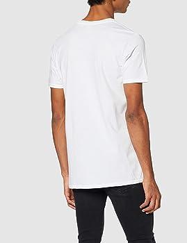 DC Comics DC Originals Batman Crackle Logo Men Camiseta, Blanco ...