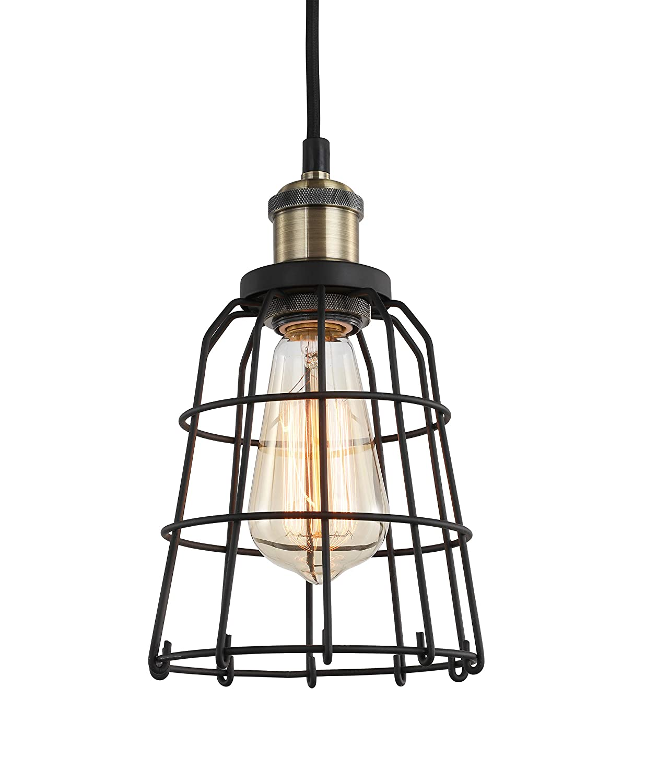 Woodbridge Lighting 18323ATBWL-SW106BK Ceiling Pendant Fixtures Black