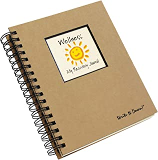 product image for Road to Wellness, My Recovery Journal - Kraft Hard Cover