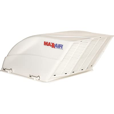 Maxxair 00-955001 White Fanmate Cover with Ez Clip Hardware: Automotive