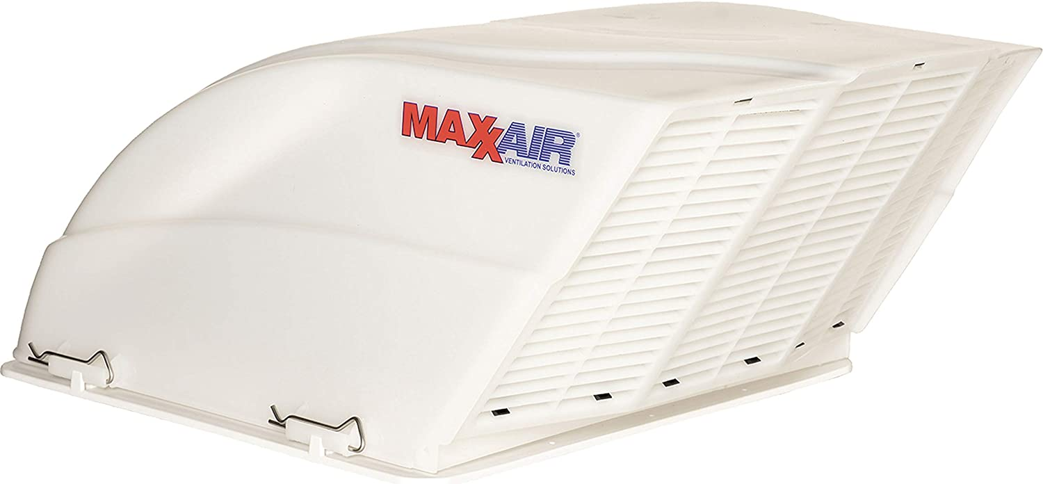 Maxxair 00-955001 White Fanmate Cover with Ez Clip Hardware