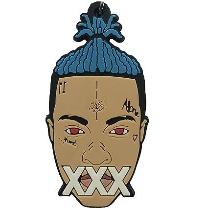 amazon com hhkeychains xxxtentacion two face keychain hip hop