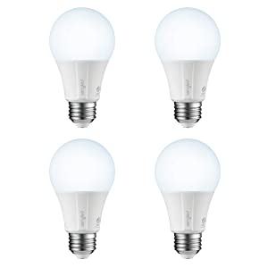 Sengled Smart LED Daylight (Element Classic) Bulb, Hub Required, 5000K, A19 60W Equivalent, Works with Alexa & Google Assistant & SmartThings, 4 Pack