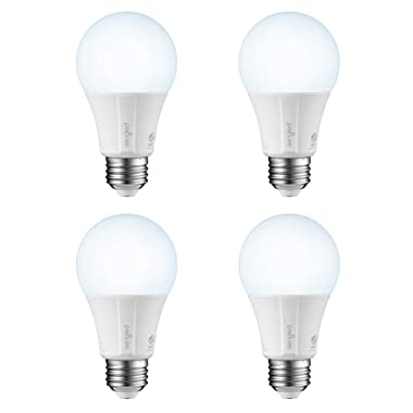 Sengled Smart LED Daylight A19 Bulb, Hub Required, 5000K 60W Equivalent, Compatible with Alexa, Google Assistant & SmartThings, 4 Pack