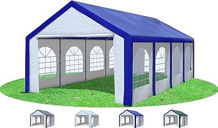 Pavillon 4x8 m Partyzelt Festzelt Gartenzelt Unterstand PE
