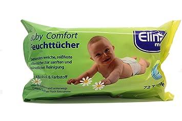 Toallitas húmedas de bebé pañuelos en accesorios 72 pcs: Amazon.es: Hogar