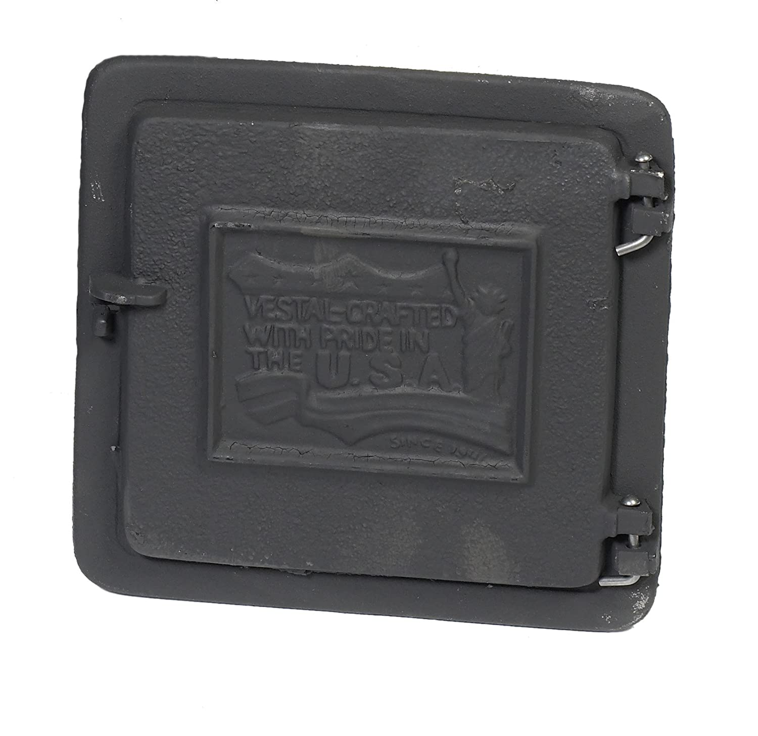 """Mutual Industries 26-004 Cast Iron Clean Out Door, 12"""" x 8"""""""