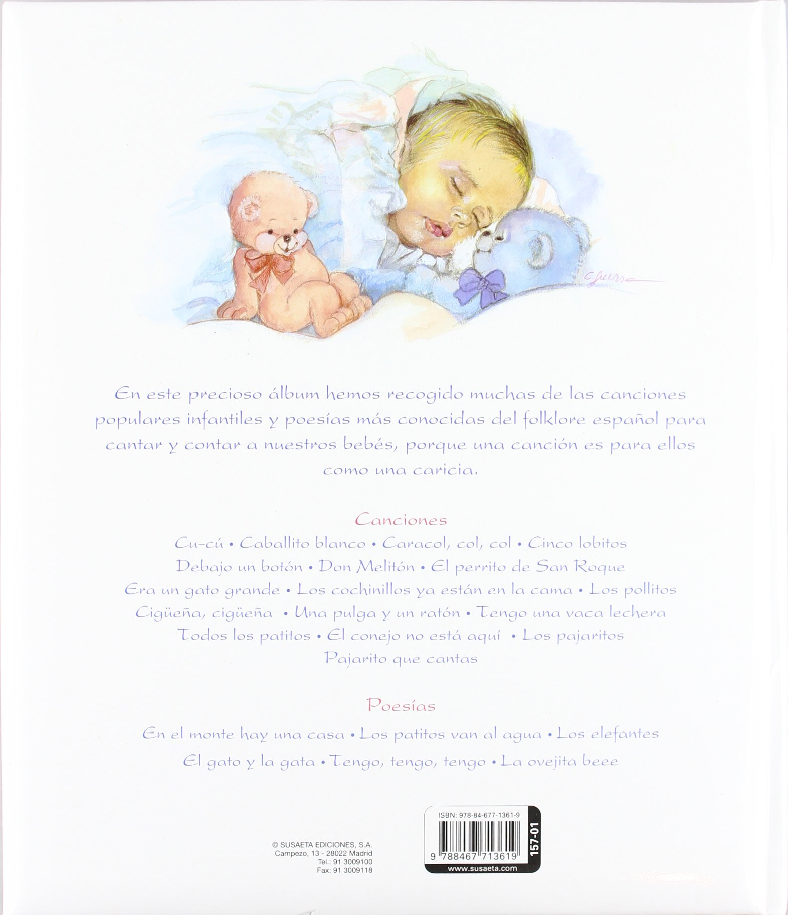 Amazon.com: Canciones para mi bebe / Songs for my baby (Spanish Edition) (9788467713619): Agapea: Books