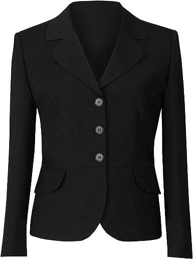 Ladies new black blazer jacket size 10 12 14