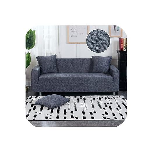Happy Towns - Funda de sofá en Forma de L, elástica, Color ...