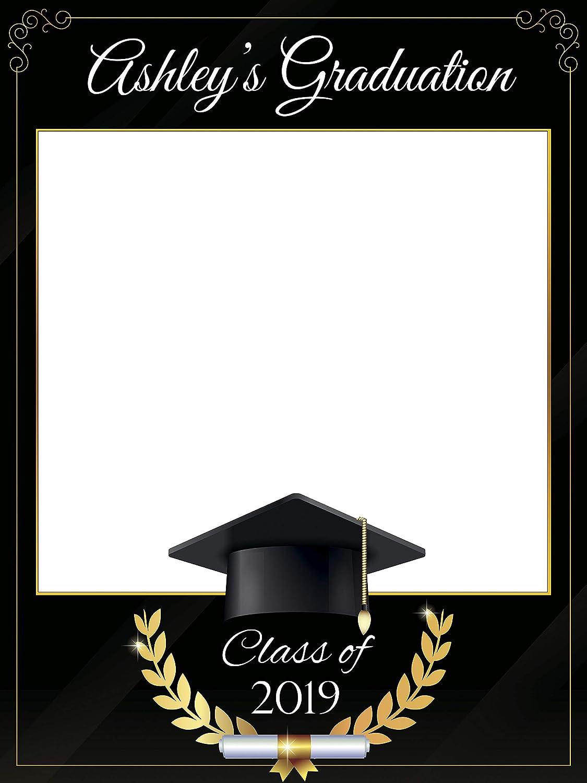 2019 Framed Graduation Clip Art