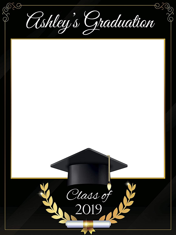 Amazoncom Custom Graduation Photo Booth Frame Prop Size 36x24