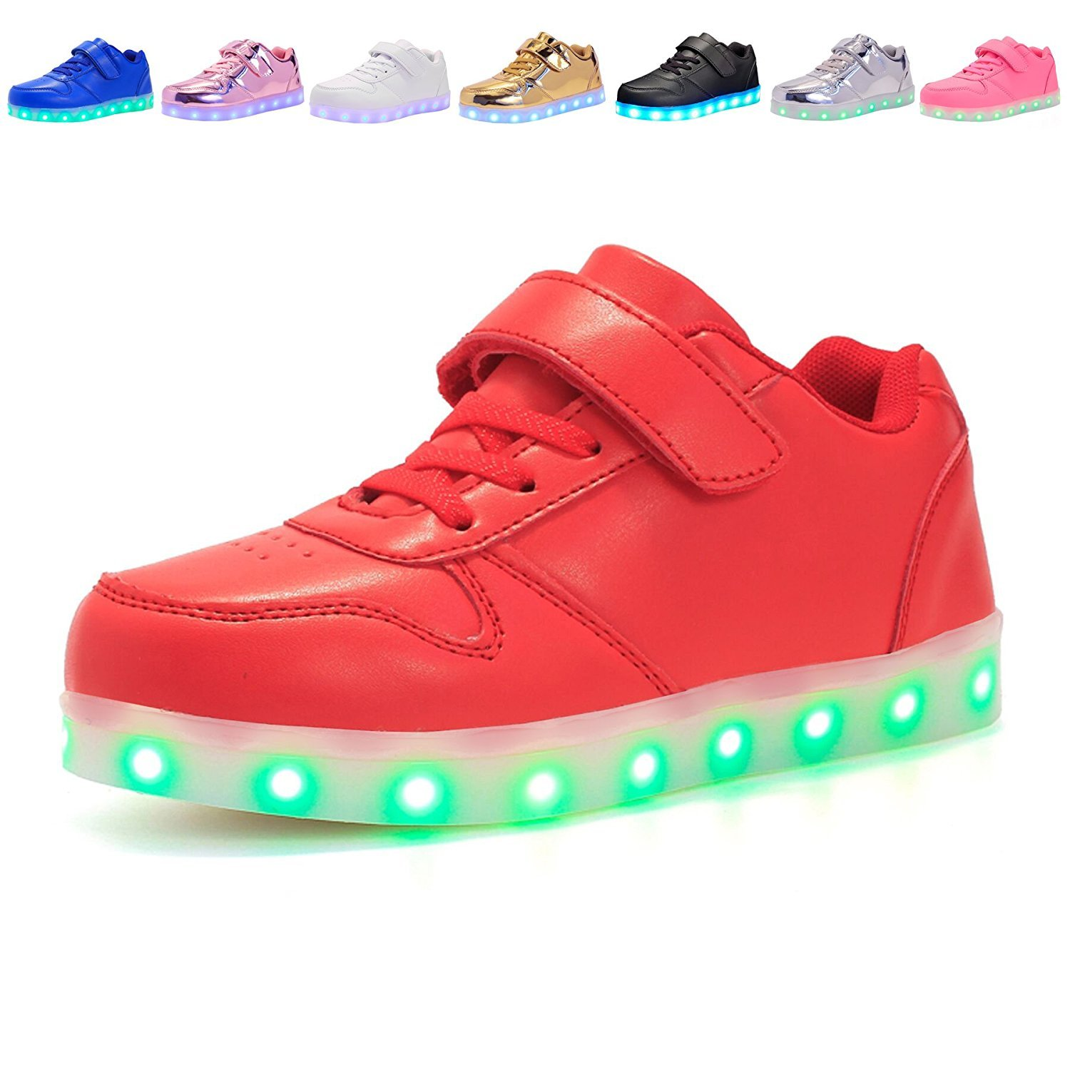 Believed Kids LED Light up Shoes Boy and Girls Colorful Sneakers