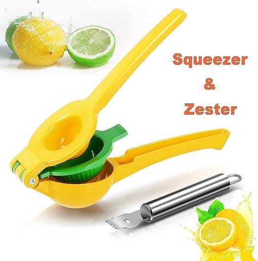 Compra Rantizon - Exprimidor de limón, Manual 2 en 1, Lima y ...