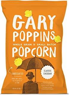 product image for Gary Poppins Popcorn - Gourmet Handcrafted Flavored Popcorn - 10 Pack Classic Cheddar, 1oz