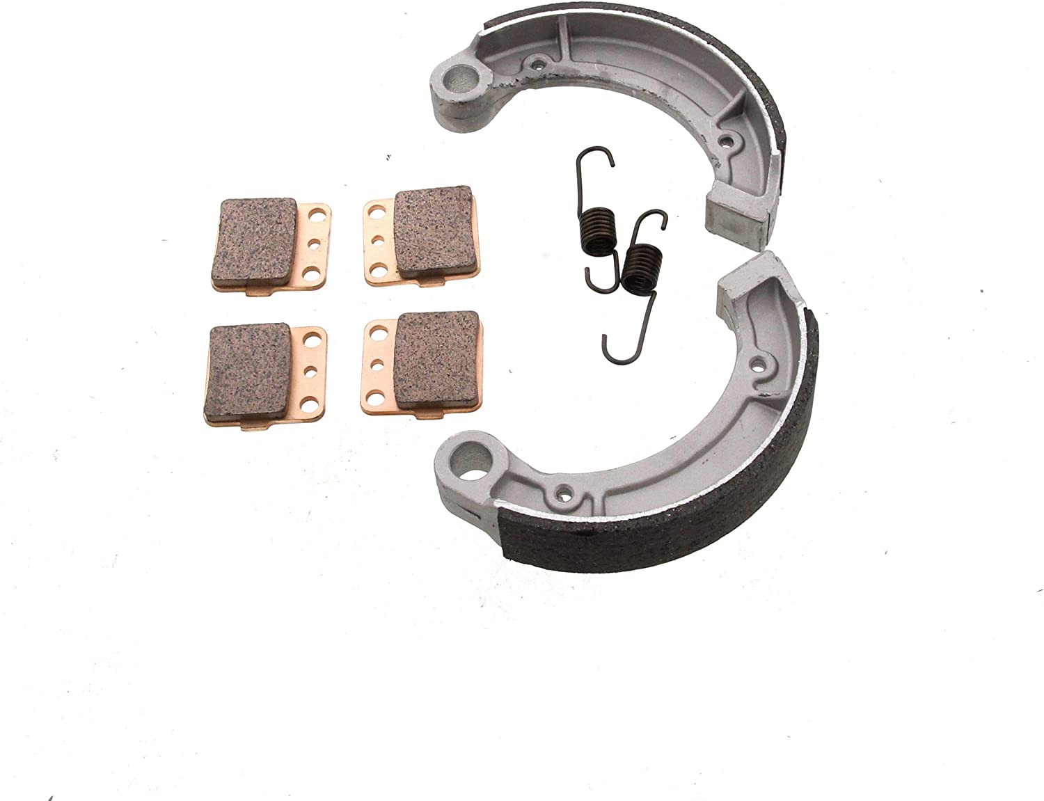 Yamaha 350 GRIZZLY YFM350 2X4 Front Brake Pads and Rear Brake Shoes