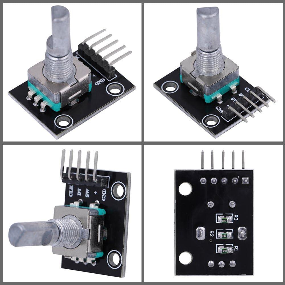 4pcs Rotary Encoder Modules 360 Degree Rotation Electronic DIY Parts 5V Voltage