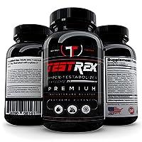 Testrex #1 Formula: Tribulus Terrestris, Yohimbe, Maca. Performance, Size, Stamina...