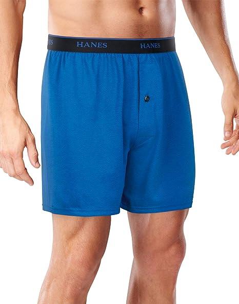 "4 + 1 Free Bonus Pack Hanes Mens FreshIQ Cool Comfort/â/""/¢ Breathable Mesh Boxer Brief"