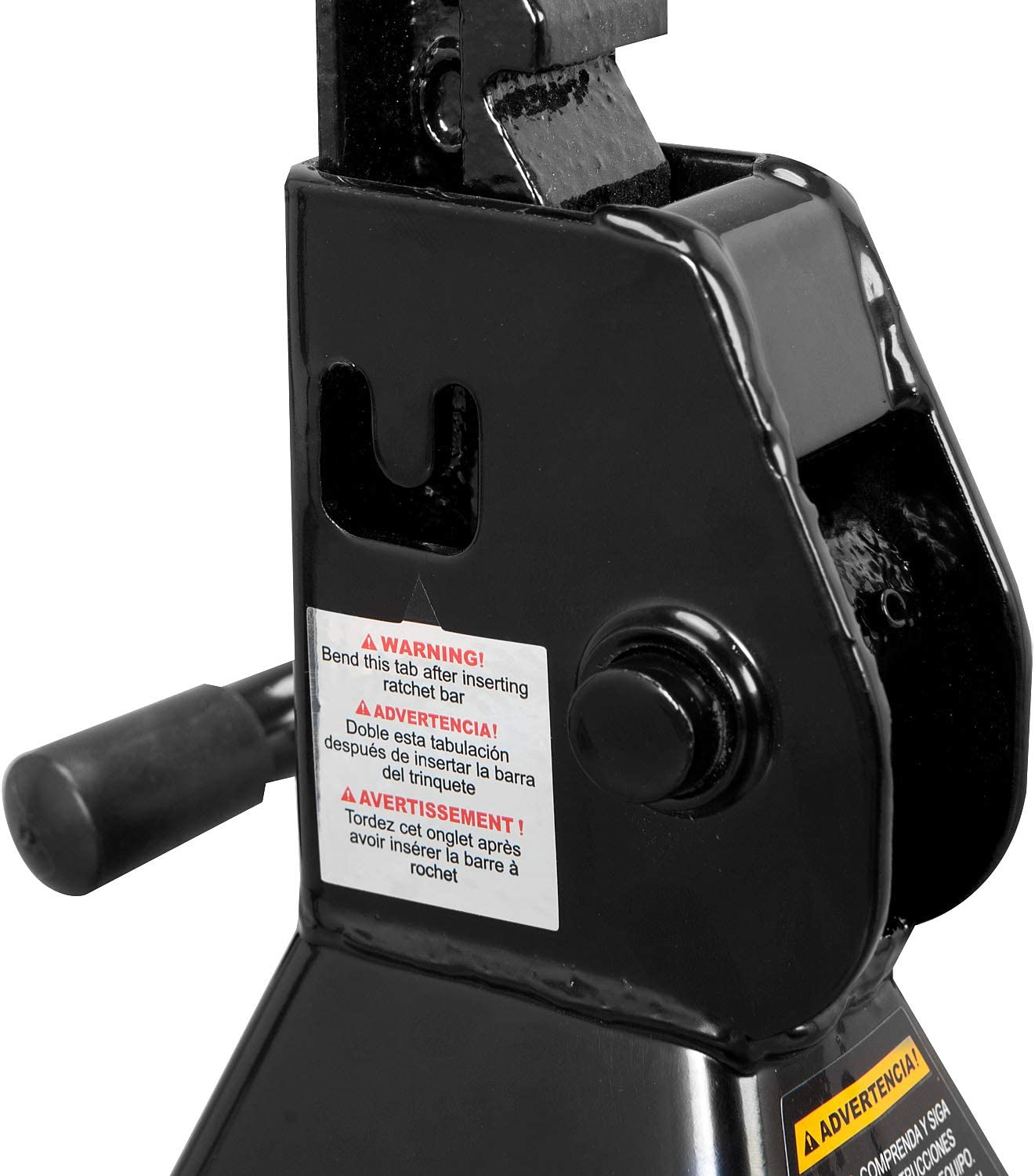 2 Ton Capacity Black Torin AT82001B Hydraulic Trolley Service//Floor Jack Combo with 2 Jack Stands 4,000 lb