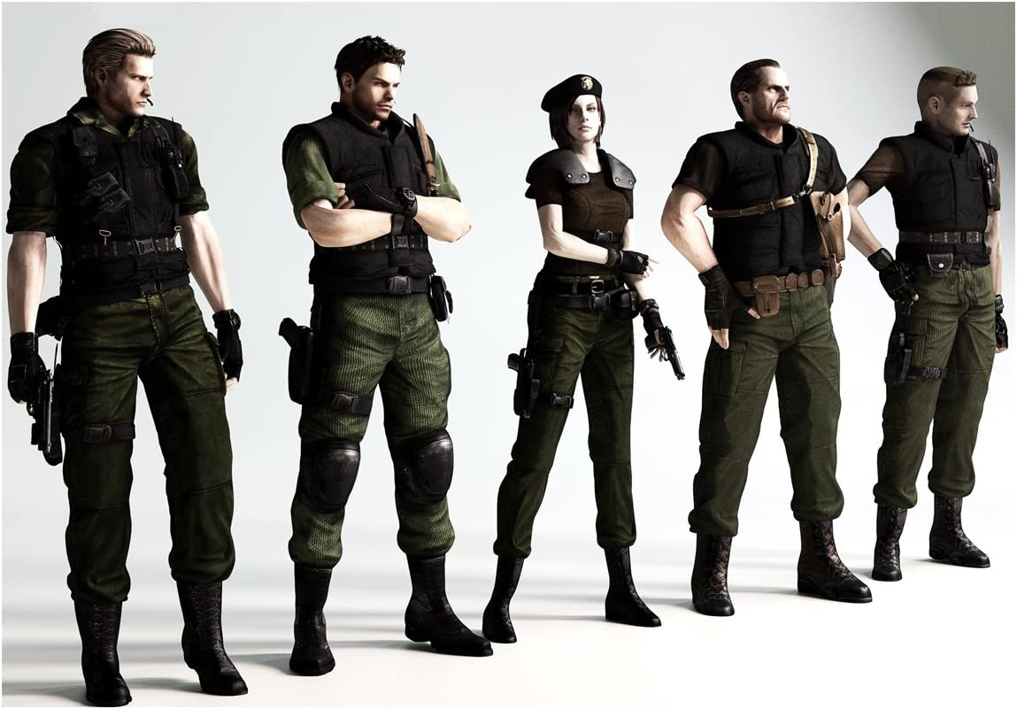 Poster Characters Resident Evil 7 A Biohazard Vii A3 42 X 30 Cm