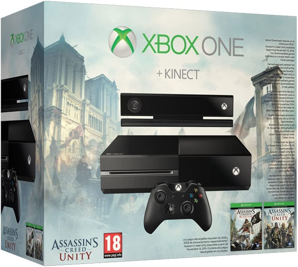 Amazon com: Xbox One with Kinect: Assassin's Creed Unity