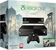 Xbox One with Kinect: Assassin's Creed Unity Bundle, 500GB Hard Drive (Renewed)