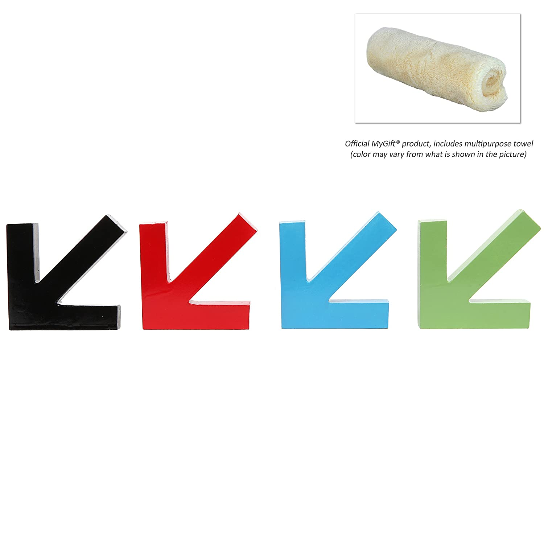 MyGift (4 unidades) diseño de flecha Digital multicoloras ...
