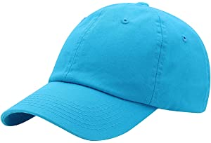 2b142adb1471c Top Level Baseball Cap for Men Women - Classic Cotton Dad Hat Plain Cap Low  Profile