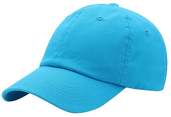 93d6d7898f4 Top Level Baseball Cap for Men Women - Classic Cotton Dad Hat Plain Cap Low  Profile