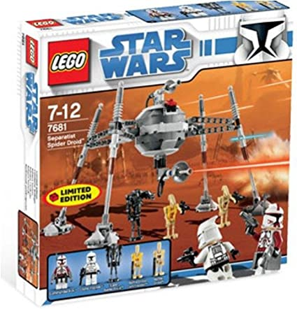 Amazon Com Star Wars Exclusive Limited Edition Lego Set 7681 Separatist Spider Droid Toys Games