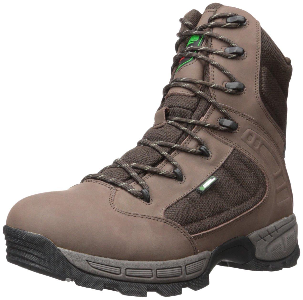 WOOD N' STREAM Men's Gunner 8'' Hunting Shoes, Brown, 8 M US by WOOD N' STREAM