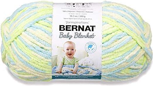 3 Pack Bernat Baby Blanket Yarn-Little Dinosaurs