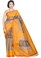 Korni Cotton Saree (Kr0074 _Multi-Coloured)