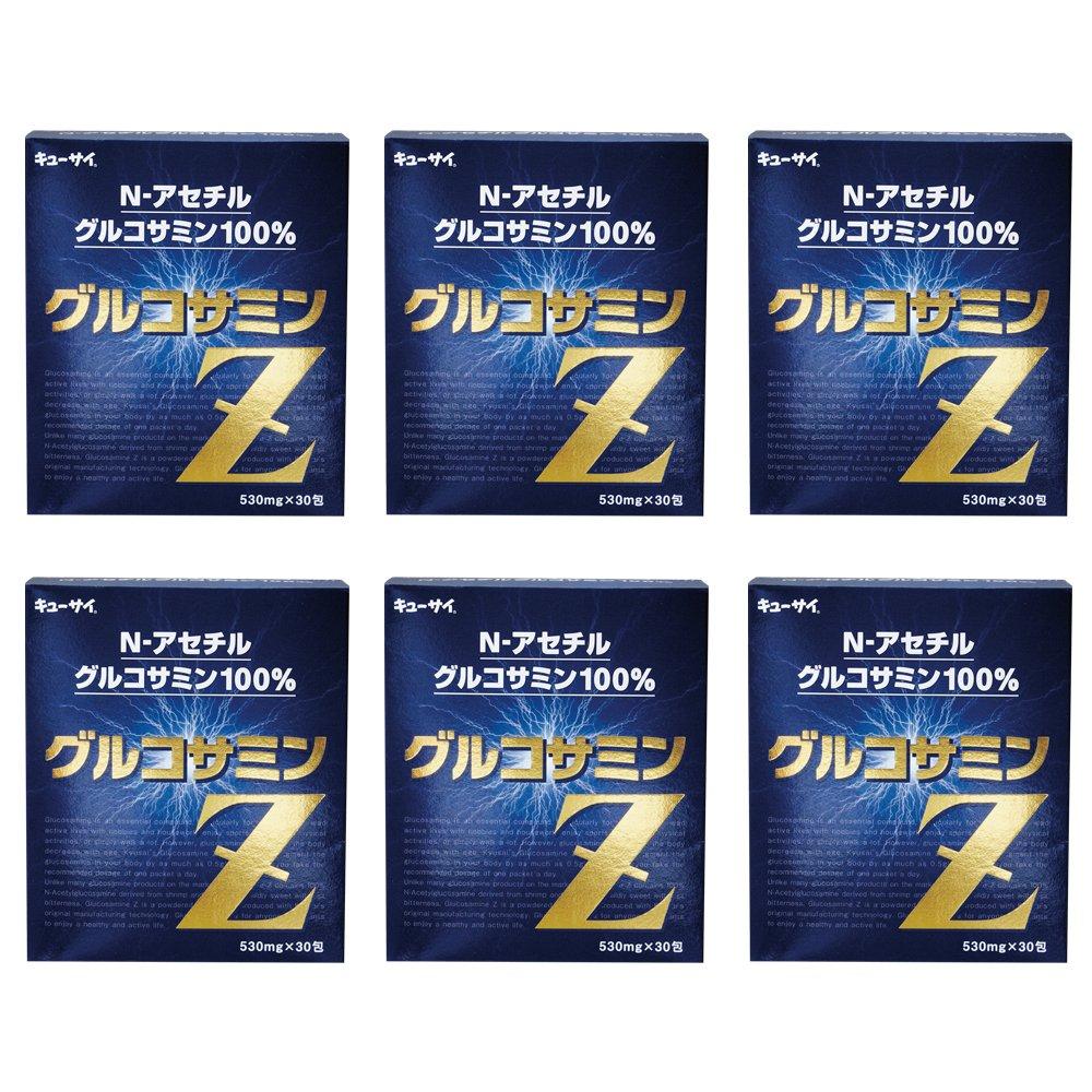 グルコサミンZ 6箱まとめ買い/キューサイ グルコサミンZ 30包 B009S2UIQ2