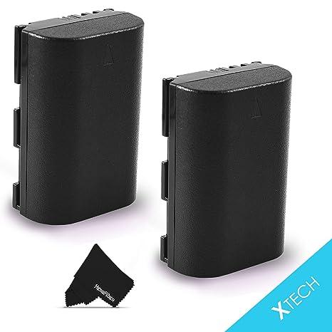 Amazon com : 2 LP-E6 Batteries for Canon EOS 7D Mark II 6D Mark ii