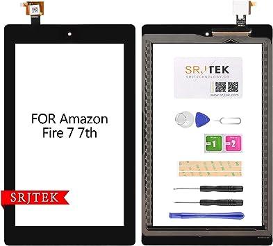 "Digitizer Screen Replacement Black For Amazon Fire 7th Gen SR043KL 7/"" OK"